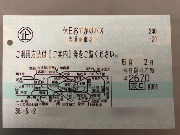 勝田駅までは休日おでかけパスで行きました。