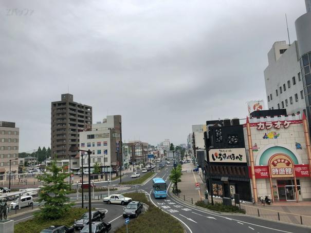 JR勝田駅周辺の景色