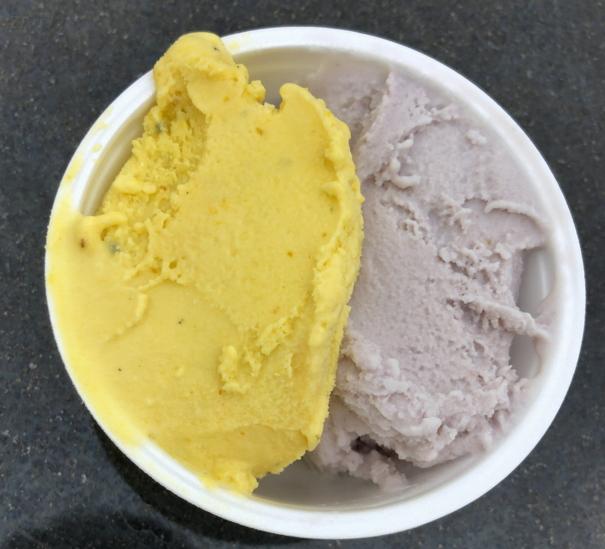 大丸屋で食べたジェラート・アイス(ダブル 370円)