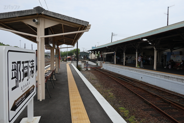 ひたちなか海浜鉄道の那珂湊駅
