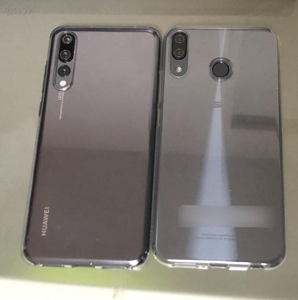 ASUSのZenfone 5とP20 Proの背面デザインを比較