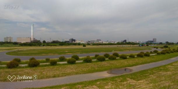 Zenfone5の広角レンズ側で撮影した写真