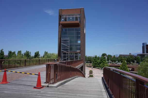 天門橋の展望台
