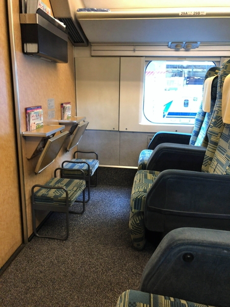 上越新幹線E4系MAXの2階グリーン席
