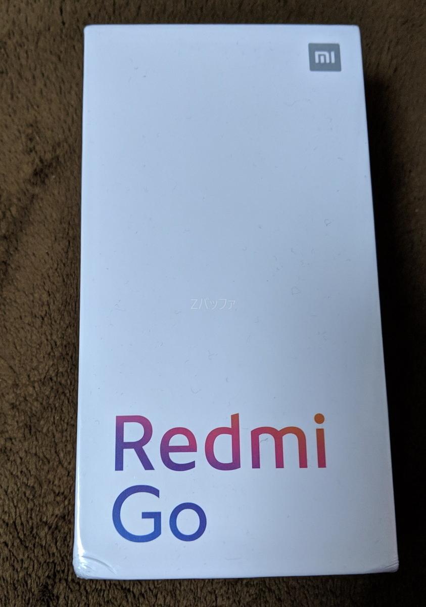 XiaomiのRedmi Go