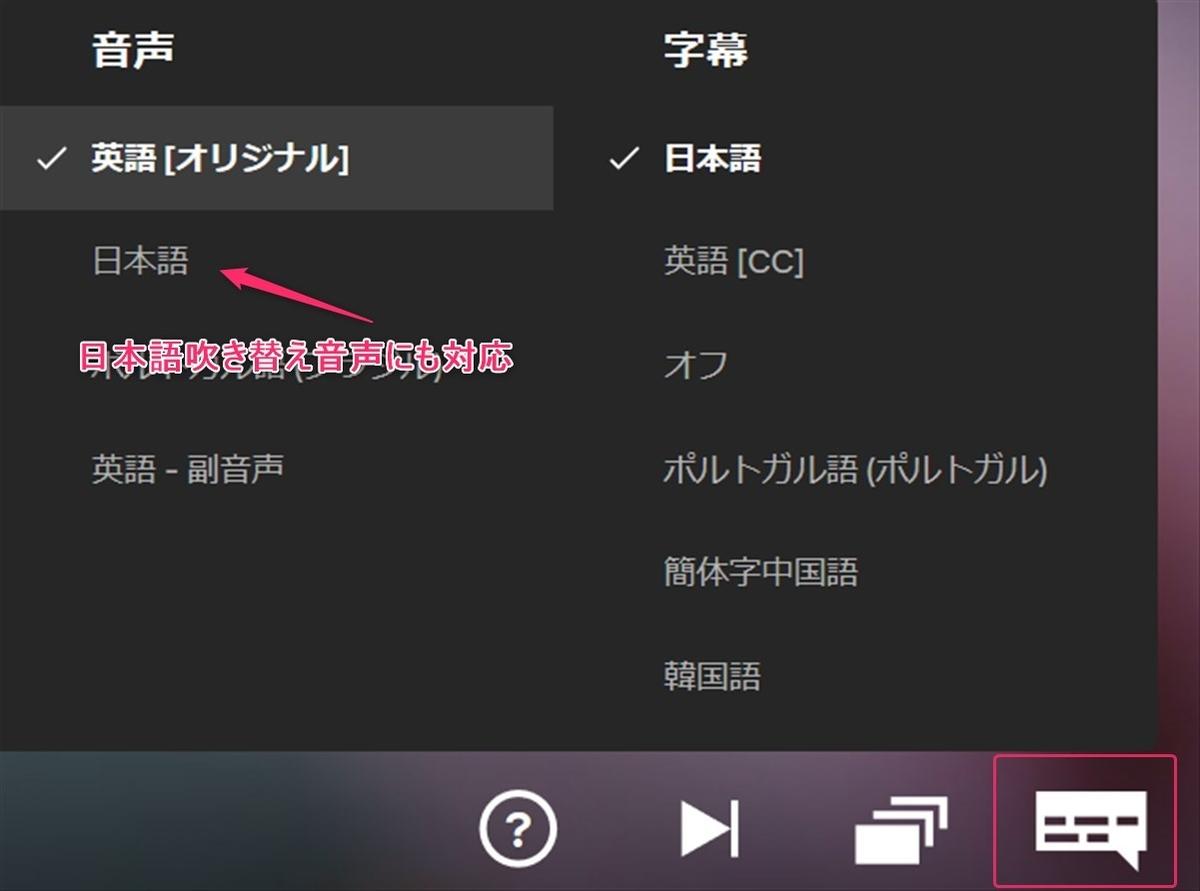 NetflixのF1番組は日本語吹き替えで視聴可能