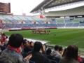[浦和レッズレディース][埼玉スタジアム2002]残念ながら2011シーズンの開幕戦を勝利で飾ることができませんでした