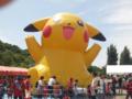 [浦和レッズ][埼玉スタジアム2002]巨大ピカチュウバルーン!私も中で遊びたかった(笑)