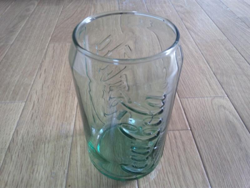 マクドナルドのLLセットを買ってもらったグラスがこれ!