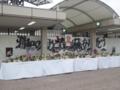 [浦和レッズ][サッカー][追悼台][埼玉スタジアム2002]埼玉スタジアム2002に設置された「浦和の父」森さんの追悼台