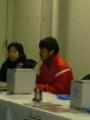 [浦和レッズ][埼玉スタジアム2002][REDS Festa 2012]シーズンチケット販売員になっている阿部ちゃん
