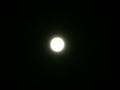 [満月][中秋の名月]中秋の名月!!雲ひとつない空のため、満月が本当によく見えます。