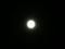 中秋の名月!!雲ひとつない空のため、満月が本当によく見えます。