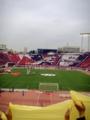 [浦和レッズ][ナビスコカップ][コレオグラフィー]柏レイソルゴール裏から見た浦和レッズのコレオ