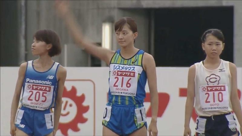 女子3000mSC SF2 10:12.39 石澤ゆかり1位 第103回日本陸上競技選手権 ...