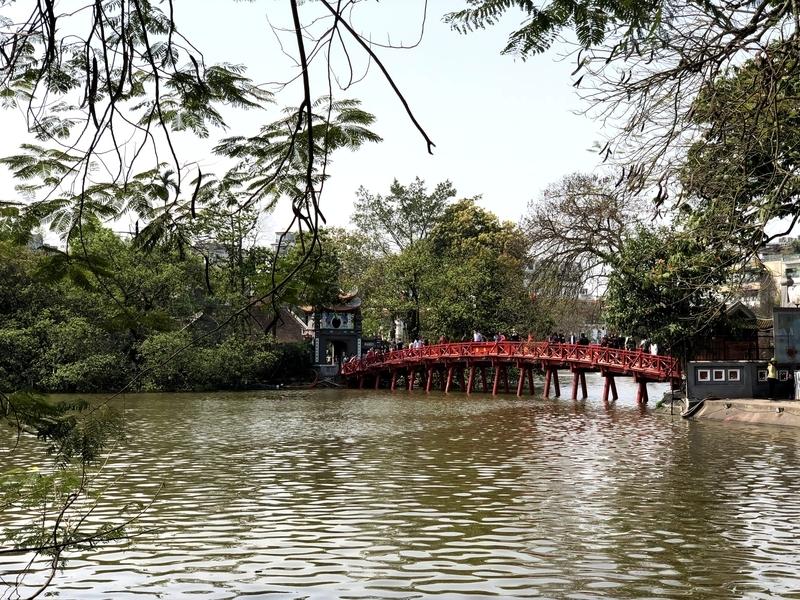 ベトナム ホアンキエム湖 ハノイ