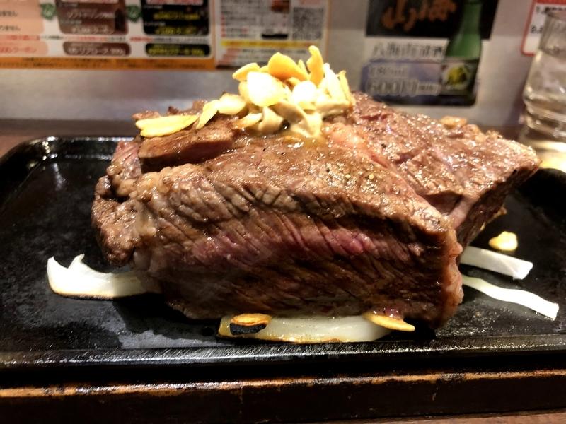トップリブステーキ いきなりステーキ
