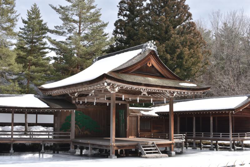 能楽堂 身曽岐神社 shrine japan