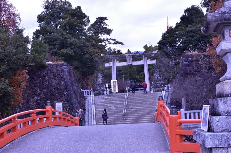 武田神社 神橋