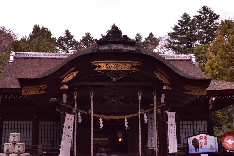拝殿 武田神社