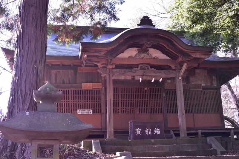 新府城 神社