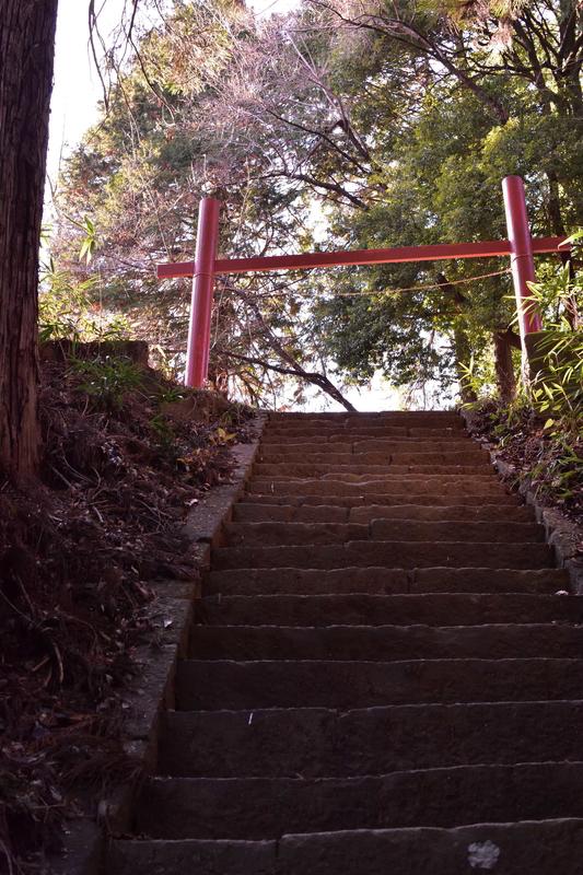 新府城 階段上