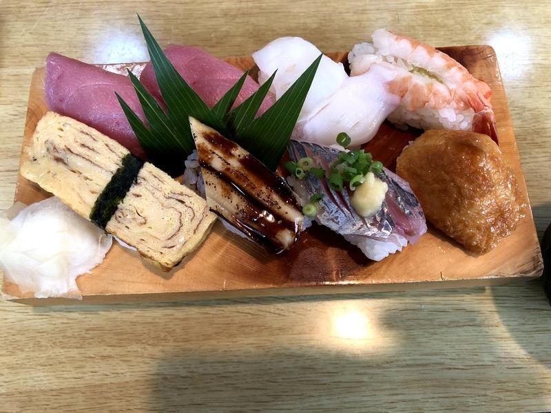 山梨 福寿司 ワンコインランチ