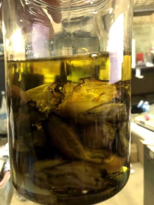 スモーク牡蠣 オリーブオイル漬け