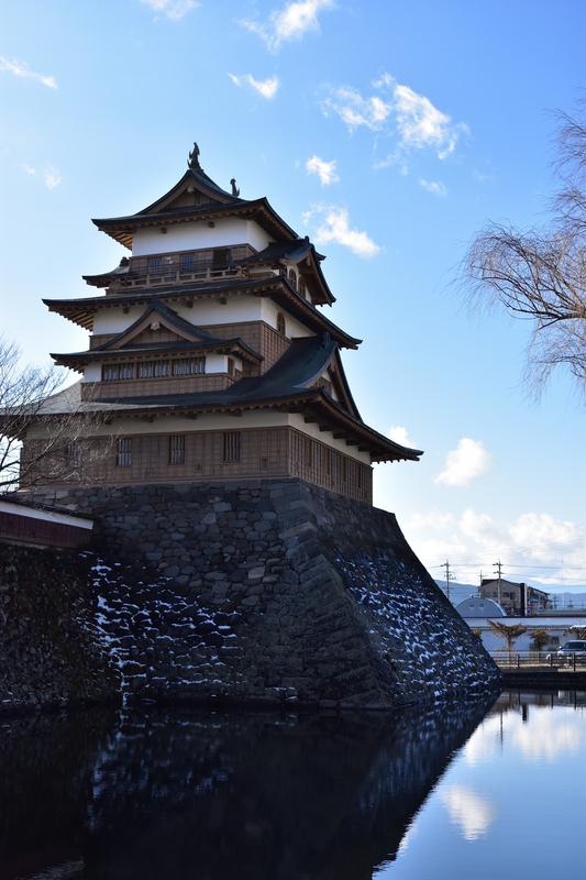 高島城と堀