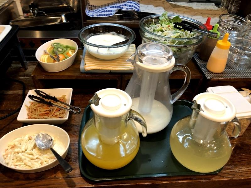サザンクロスイン松本 朝食