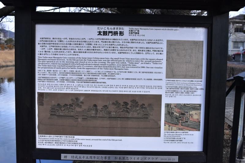 松本城 門 説明