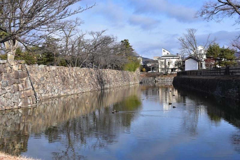 松本城 堀