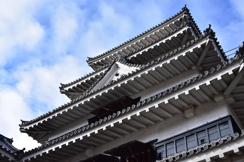 松本城 ローアングル
