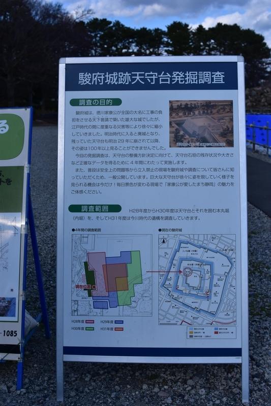 駿府城 発掘