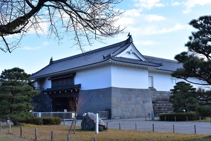 駿府城 東御門
