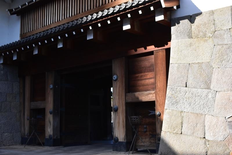 駿府城 東御門 内側
