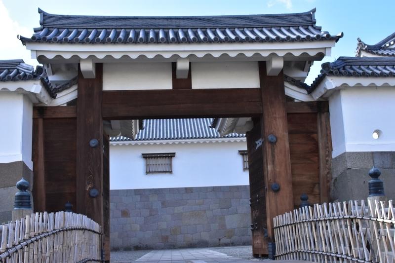 駿府城 東御門 外側