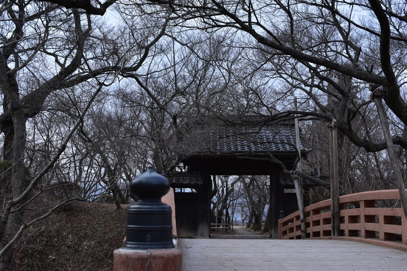 高遠城 桜雲橋