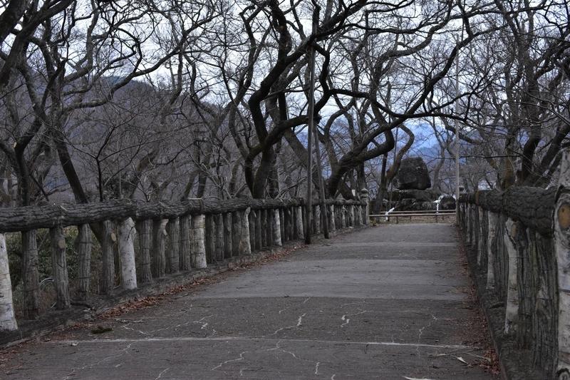 高遠城 白兎橋