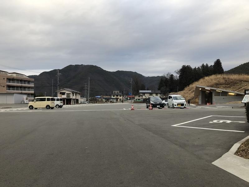 南アルプスむら 道の駅 駐車場