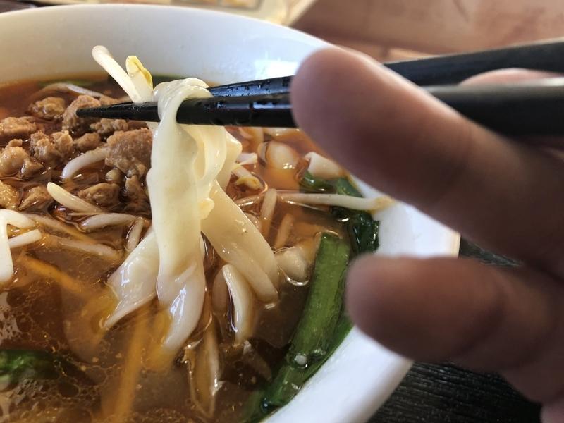 刀削麺 中華料理