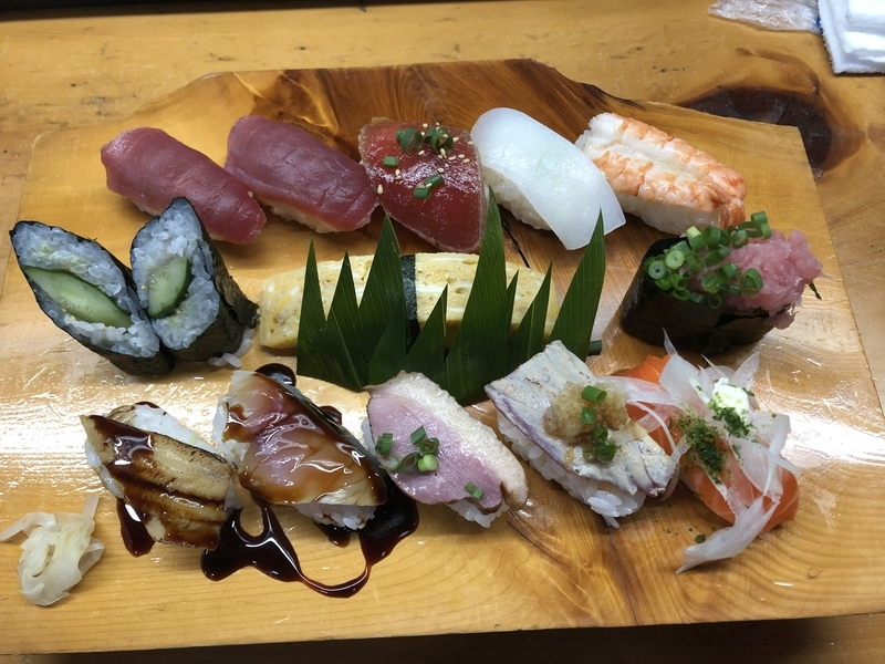 福寿司の大盛握り