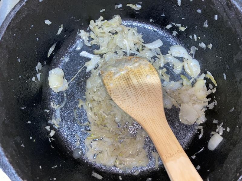 バターチキンカレー炒め
