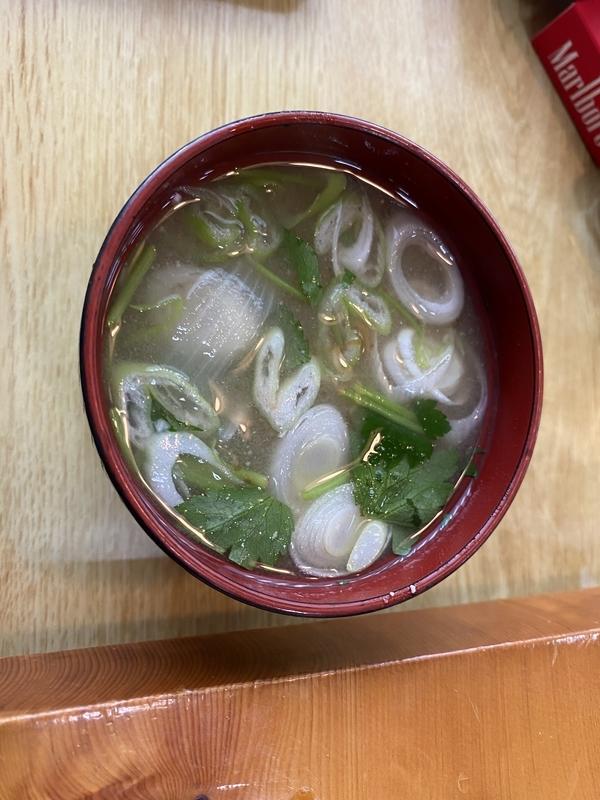 福寿司の味噌汁