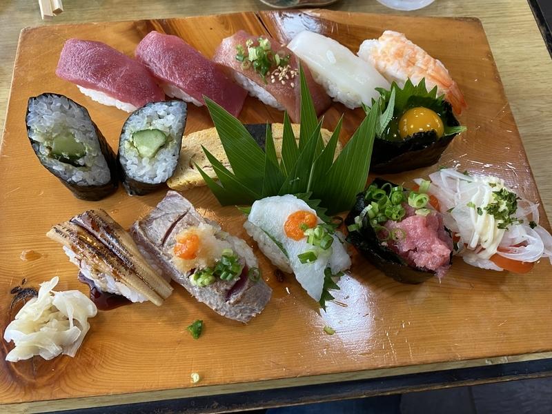 福寿司のランチ