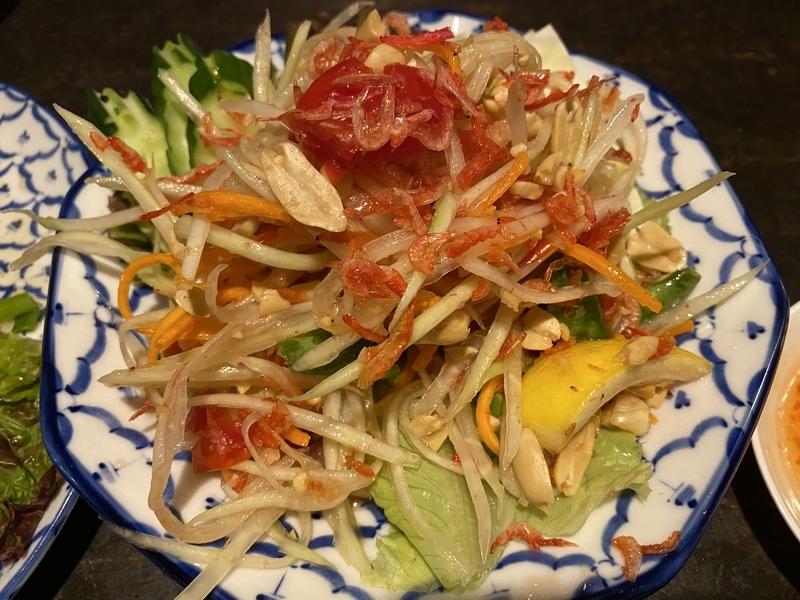 タイ料理ソムタム