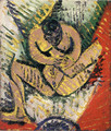 ピカソ 「小さな座る裸婦」