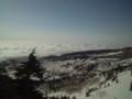 渋峠から見た雲海