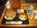 信濃大町・昭和軒のソースカツ丼