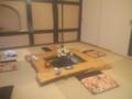 リアルCafeたまゆら・囲炉裏の部屋
